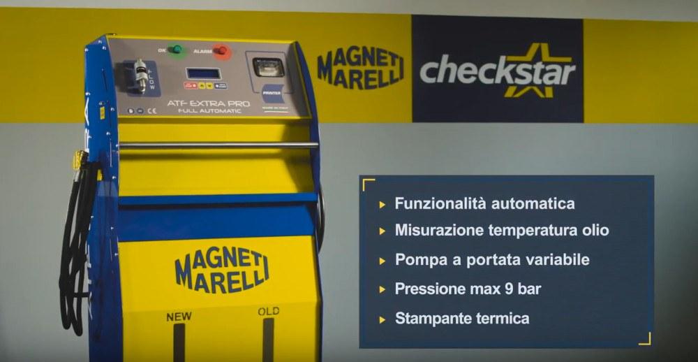 stazione di manutenzione cambi automatici magneti marelli atf