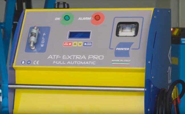 stazione manutenzione cambi automatici ATF extra pro magneti marellimilano